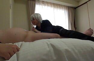 Nene hentai fandub español Azami disfruta de esperma sobre sus enormes tetas